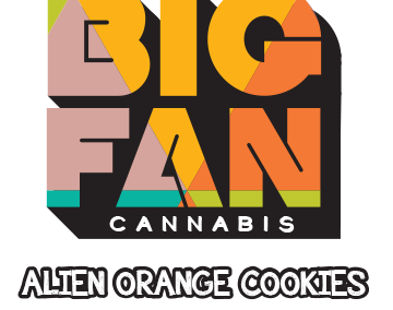 Alien Orange Cookies